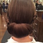 Tuck up do hair styles Christie Adam Salon